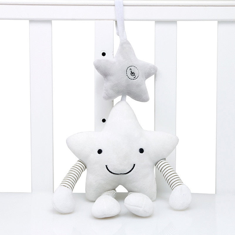 Baby Rattle Stroller Baby Toys Cute Crib Hanging Nursery
