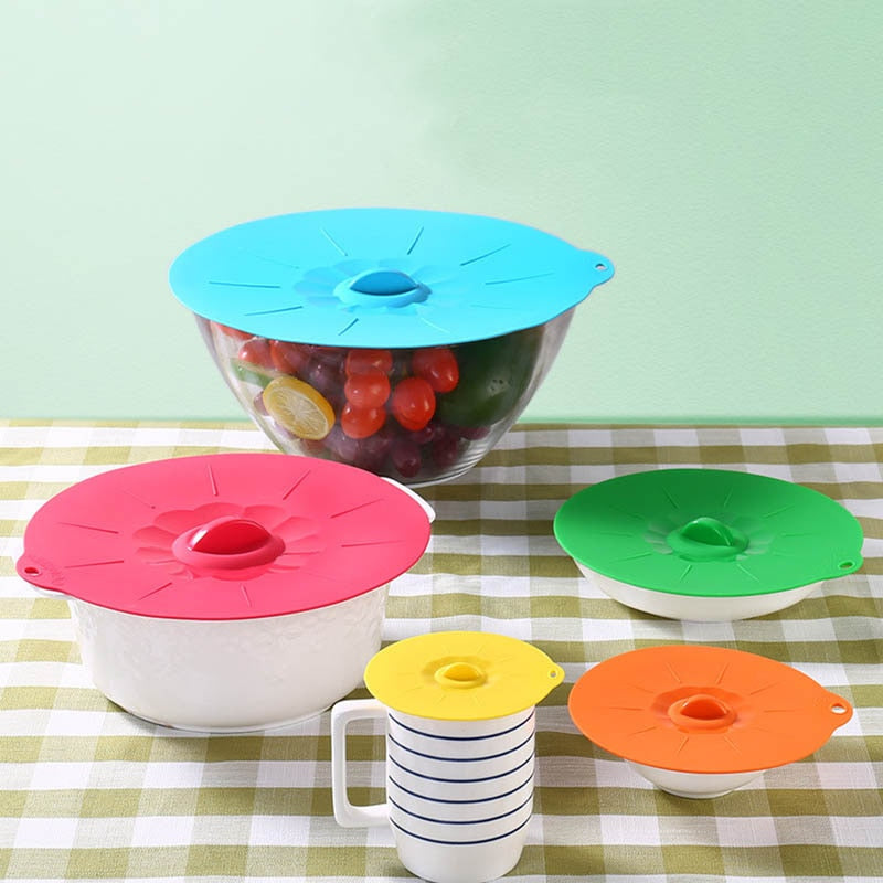 Cooking Pot Pan Lid Silicone Cooking Tools Fresh Keeping