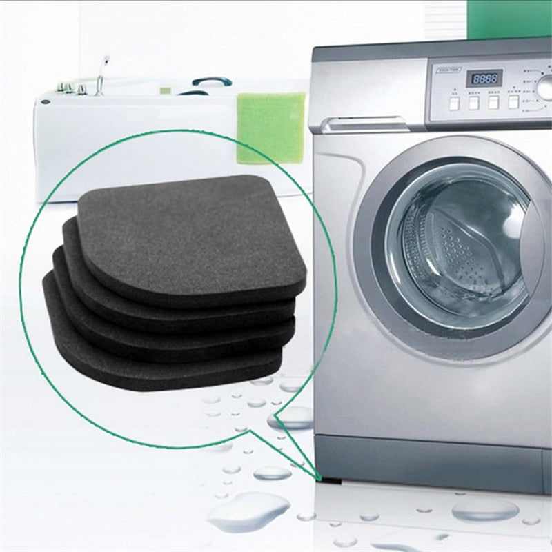 4pcs Washing Machine Anti-Vibration Pad Mat Non-Slip