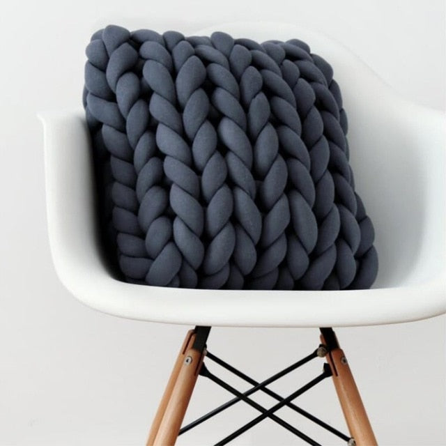 Nordic Braided Minimalist Cushion For Kids Room Decoration