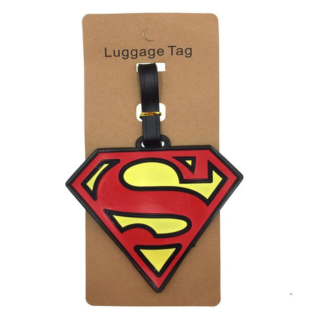 Animal Cartoon Luggage Tags Travel Accessories