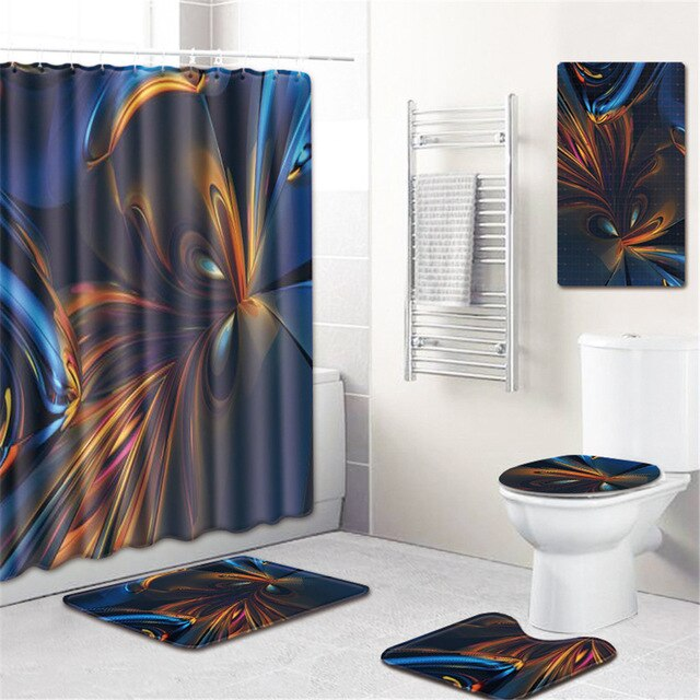 5 Piece Bathroom Rug Set (optional)