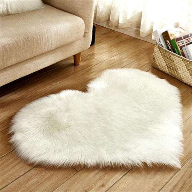 Artificial wool Carpet 1pcs 30x40CM