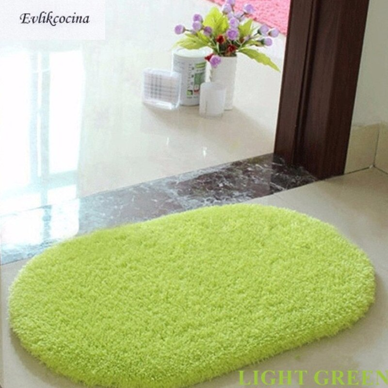 Green Soft Plush Absorbent Sponge Bedroom | Bathroom mat
