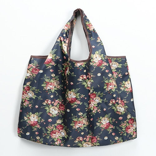 Eco Friendly Portable Tote Grocery Pouch Bags Large Size Washable