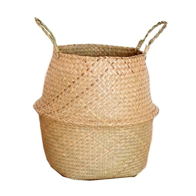 Seagrass Wickerwork Basket Rattan