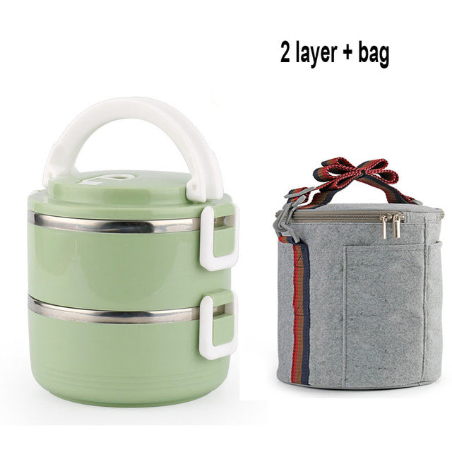 Stainless Steel Heat Preservation Lunch Box