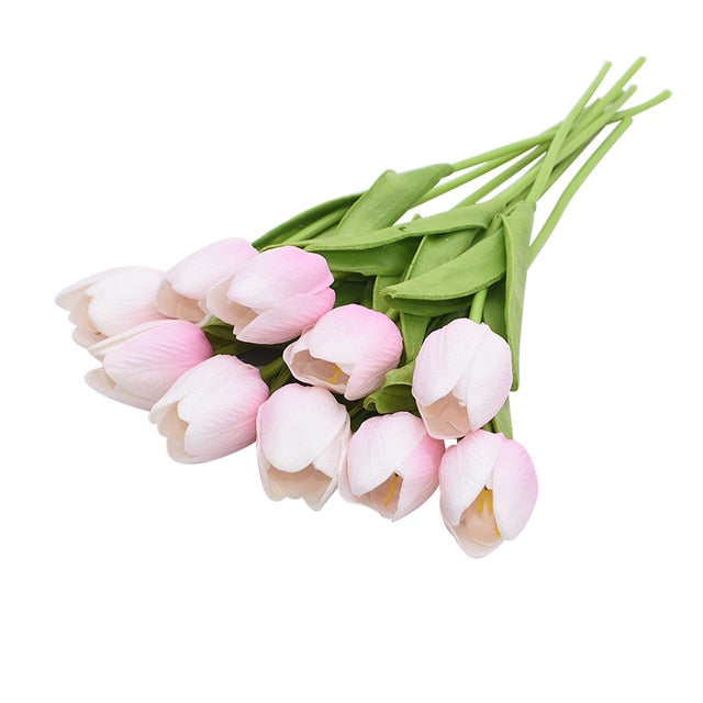 10 Pcs Artificial Tulip Flowers