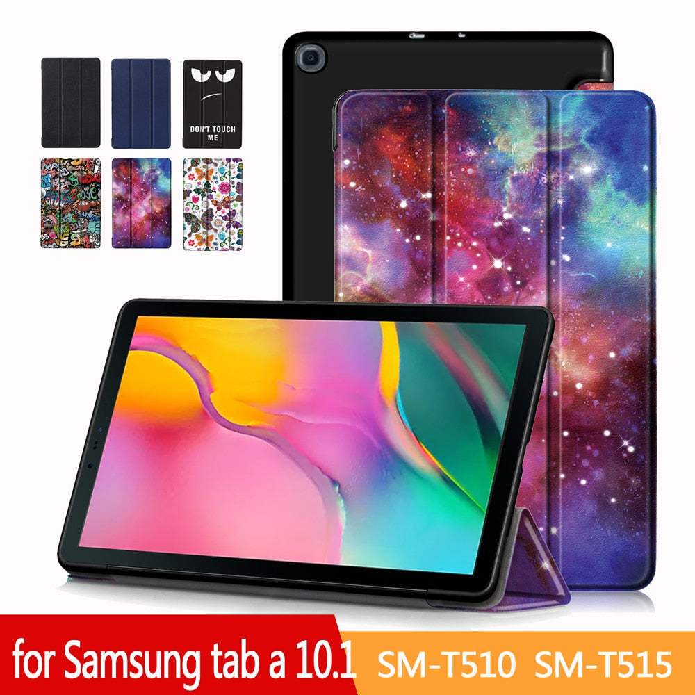 Adjustable Folding Stand Cover for Samsung Galaxy Tab A 10.1 2019 Case