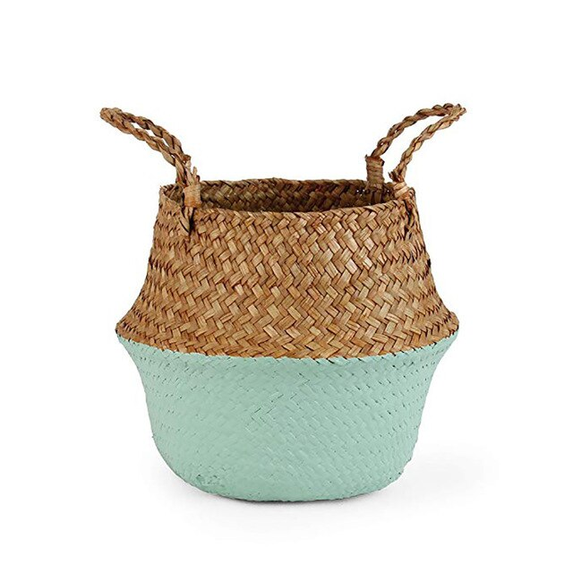 Storage Seagrass Baskets Wicker