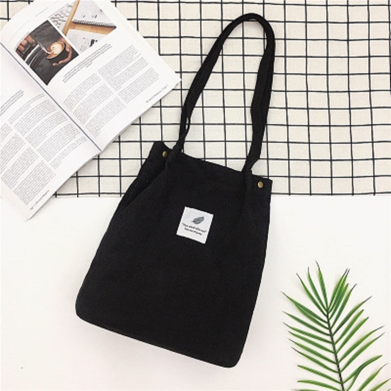 Tote canvas crossbody bag