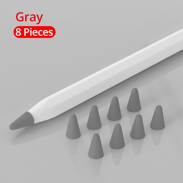 8 pcs for Apple Pencil 1 2 Tablet stylus Touch Pen