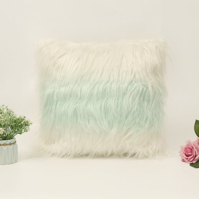 Faux fur Cushion Cover for Home Decor