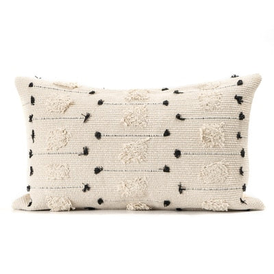 Morocco Embroidered Boho Cushion Cover