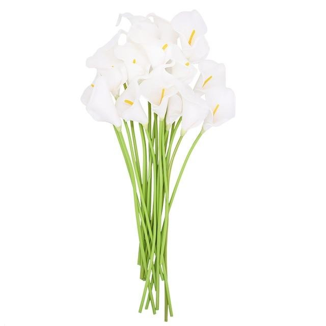 High Quality Real Touch Calla Lily Artificial Flowers