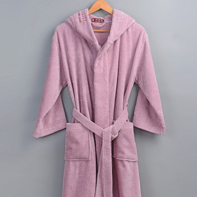 High quality 100% Cotton Unisex Bathrobe (1200g)