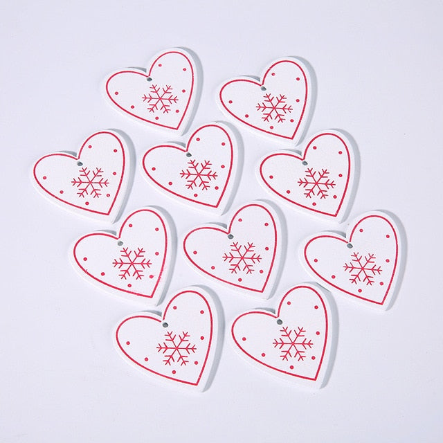 10PCs 5cm Hanging Ornaments