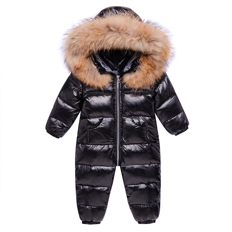Unisex Baby Toddler Waterproof Snowsuit