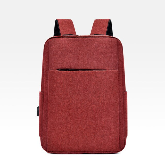 Contemporary Backpack with Usb Charger