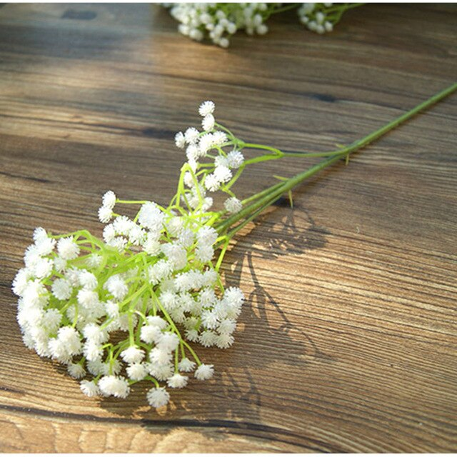 1pc High Quality Starry Plastic Artificial Flower