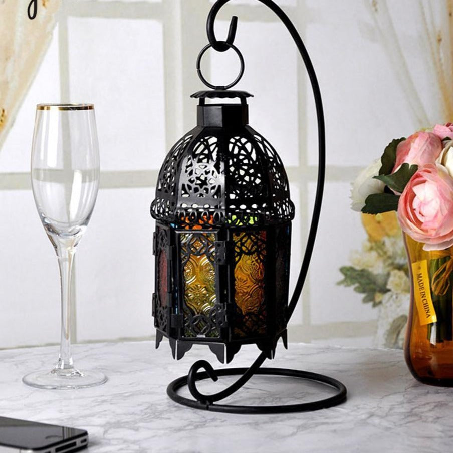Shabby Chic Morrocan Lantern Candle Holder Home Decor