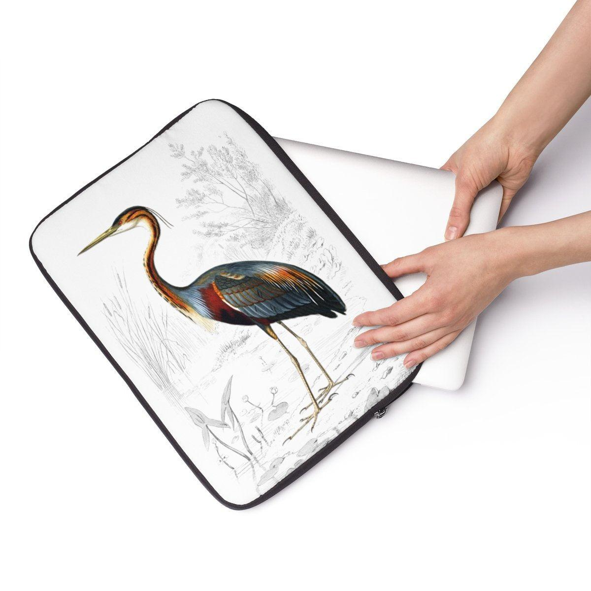"Safari | Jungle | Bird travel Laptop Sleeve-Tech - Accessories - Laptop Sleeves-Printify-13""-Très Elite"