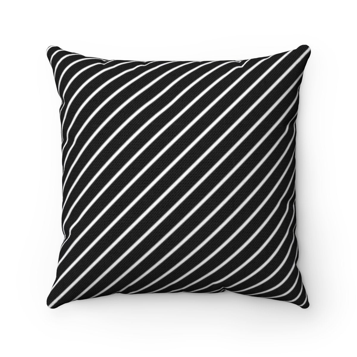 Striped and herringbone 2 in 1 decorative cushion cover-Home Decor - Decorative Accents - Pillows & Throws - Decorative Pillows-Maison d'Elite-Très Elite