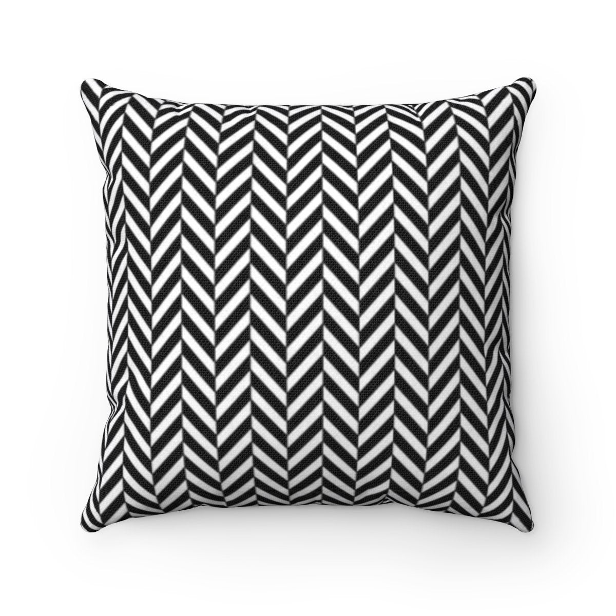 Striped and herringbone 2 in 1 decorative cushion cover-Home Decor - Decorative Accents - Pillows & Throws - Decorative Pillows-Maison d'Elite-14x14-Très Elite