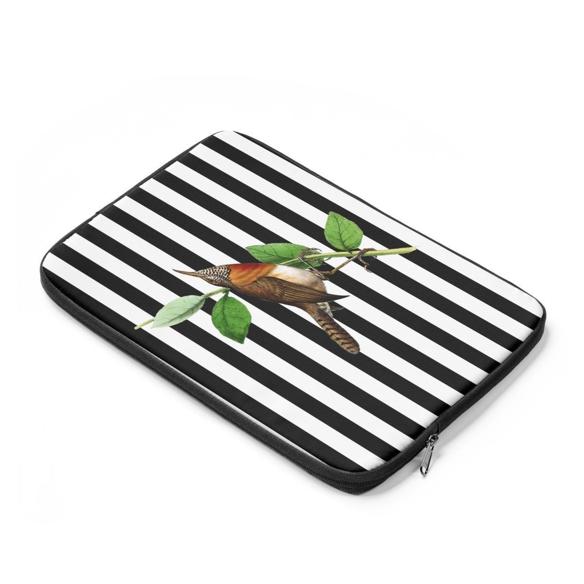 Striped bird Laptop Sleeve-Tech - Accessories - Laptop Sleeves-Printify-Très Elite