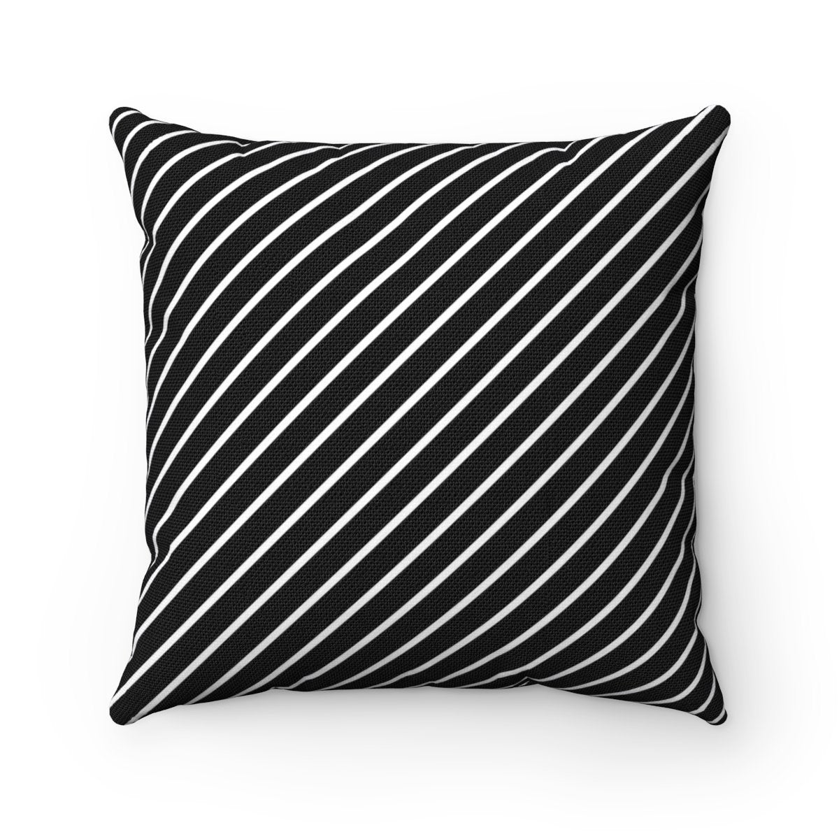 Striped decorative cushion cover-Home Decor - Decorative Accents - Pillows & Throws - Decorative Pillows-Maison d'Elite-14x14-Très Elite