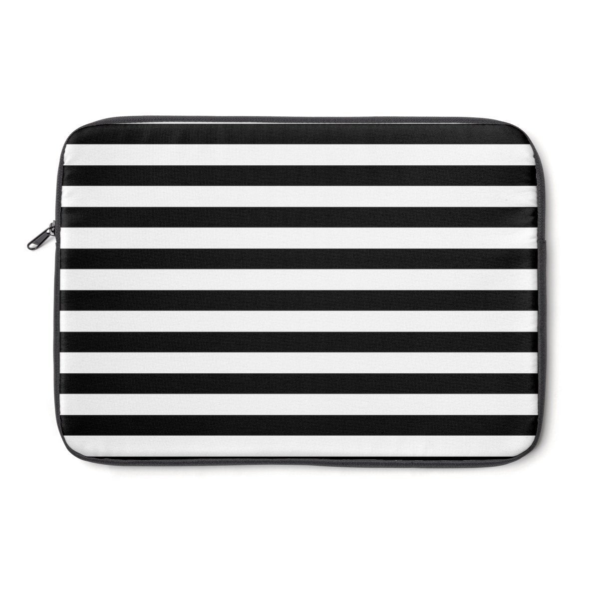Striped floral Laptop Sleeve-Tech - Accessories - Laptop Sleeves-Printify-Très Elite