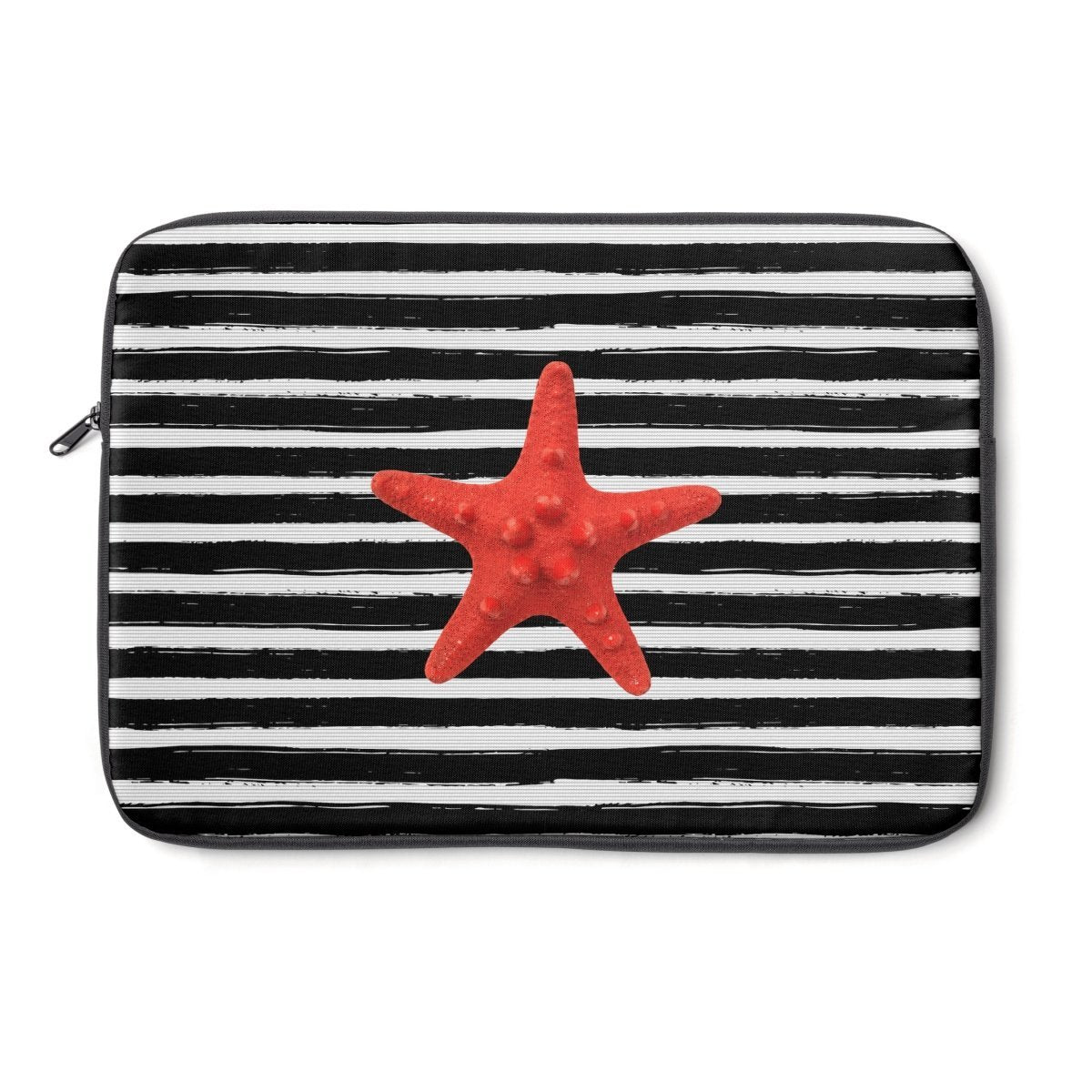 Striped Nautical Laptop Sleeve-Tech - Accessories - Laptop Sleeves-Printify-Très Elite