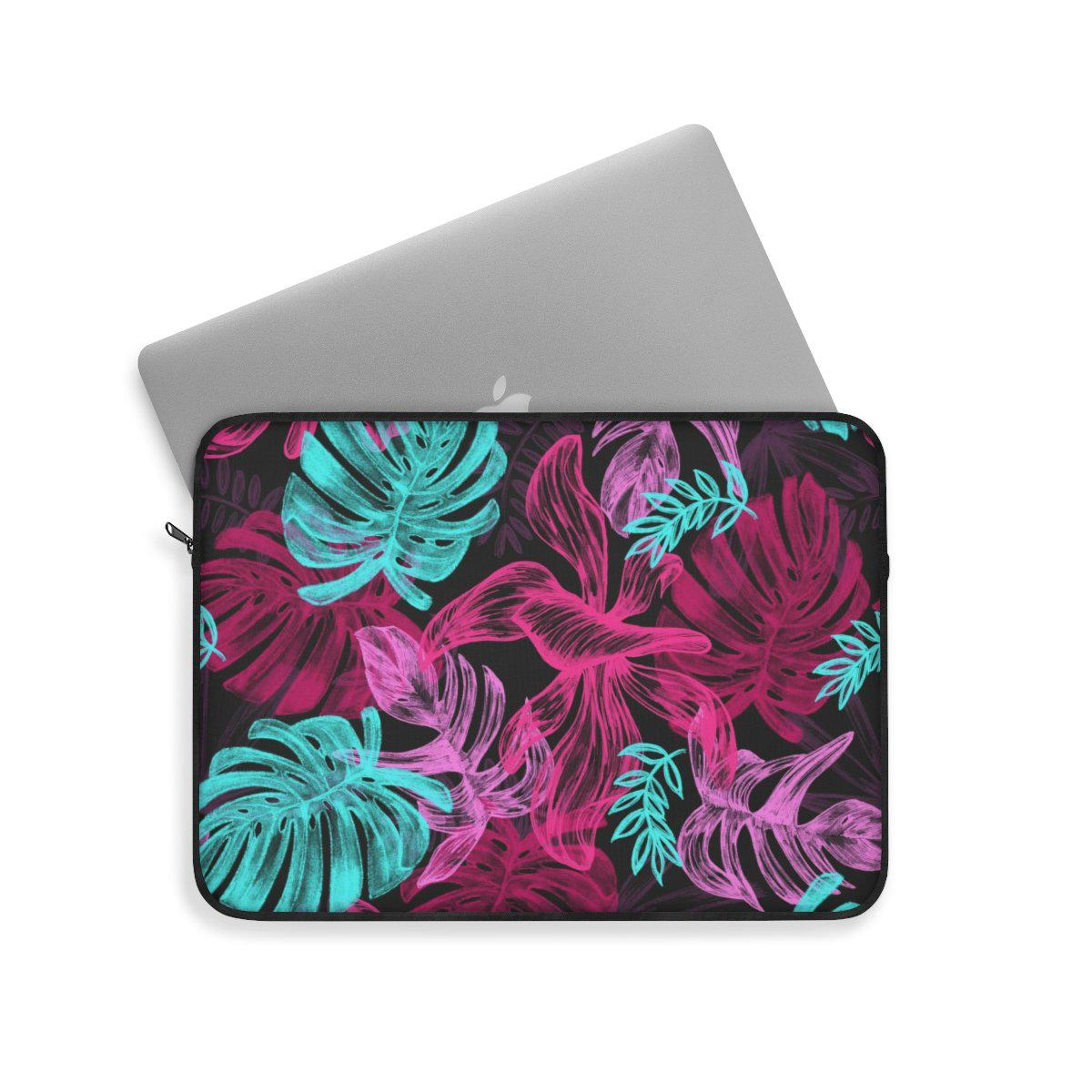 Tropical Floral Laptop Sleeve-Laptop Sleeve-Printify-Très Elite