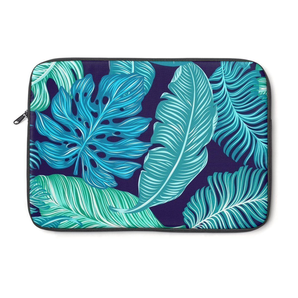 Tropical Floral Laptop Sleeve-Tech - Accessories - Laptop Sleeves-Printify-Très Elite