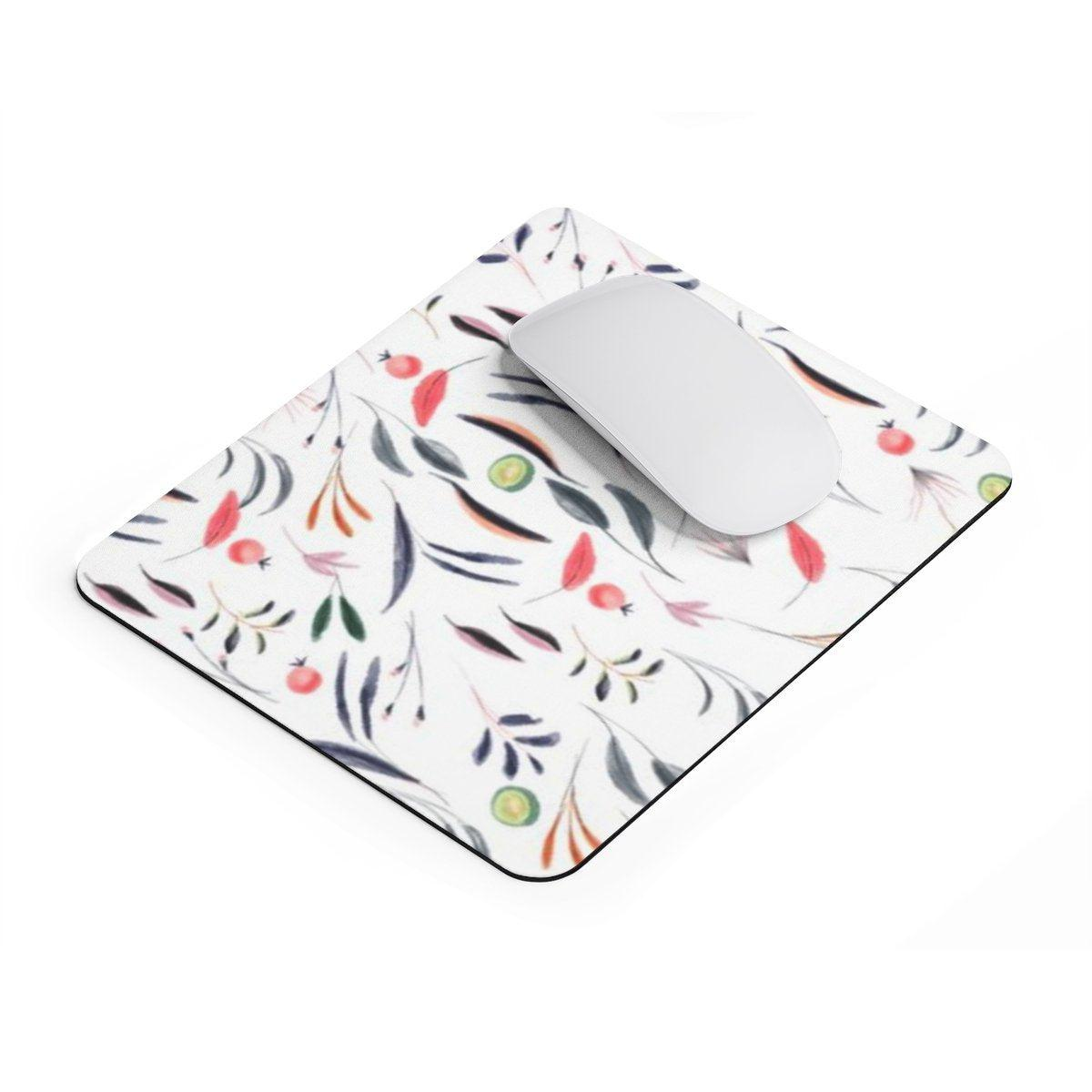 Tropical | Floral rectangular Mouse pad-Home Decor-Printify-Rectangle-Très Elite