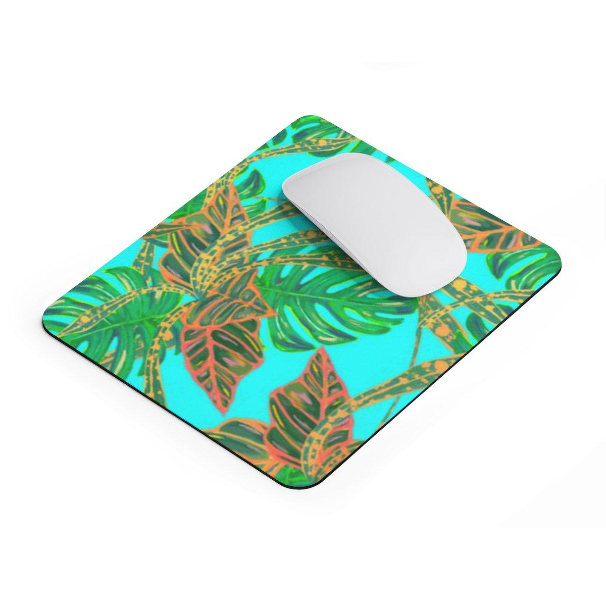 Tropical | Jungle rectangular Mouse pad-Home Decor-Printify-Rectangle-Très Elite
