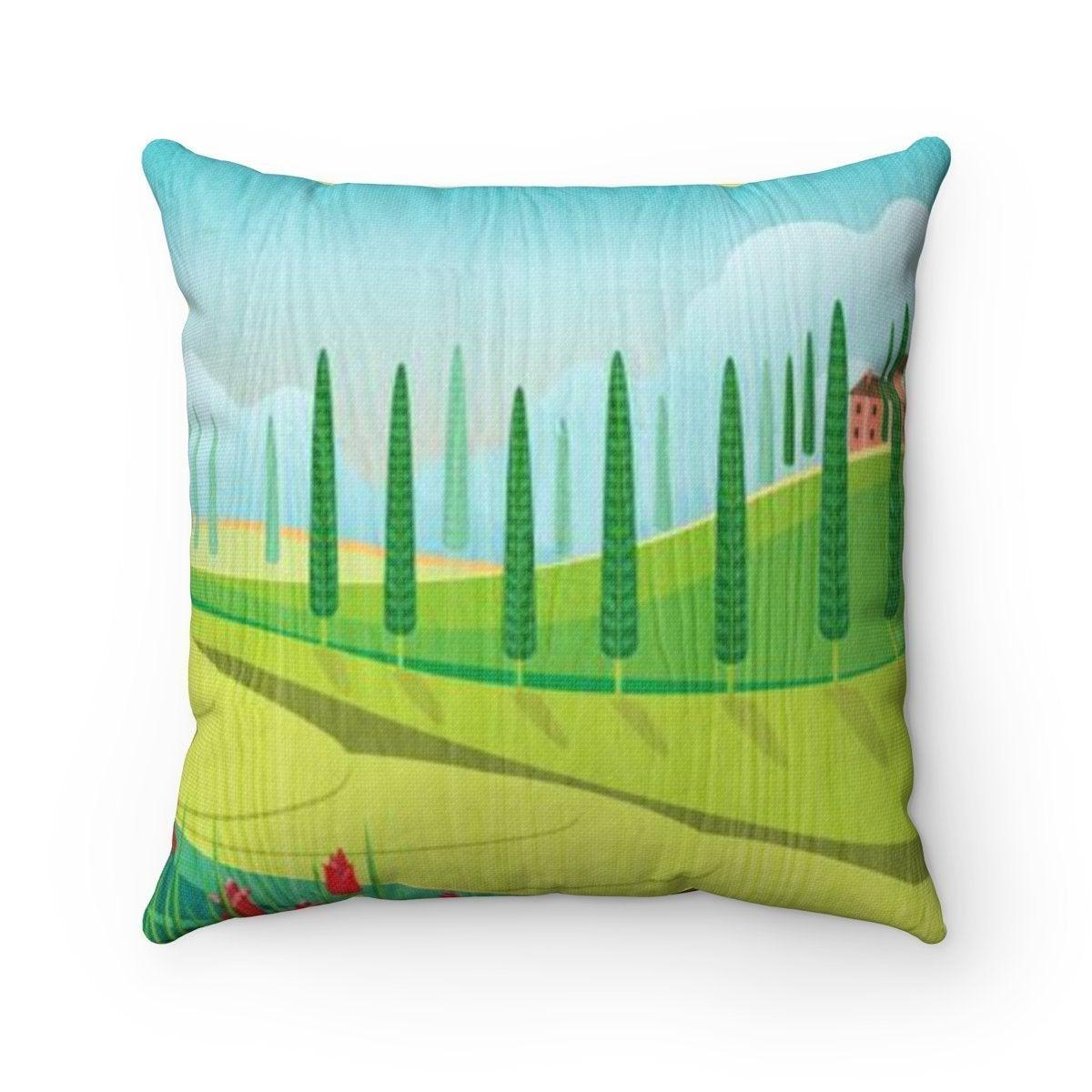 Tuscany decorative cushion cover-Home Decor - Decorative Accents - Pillows & Throws - Decorative Pillows-Maison d'Elite-14x14-Très Elite