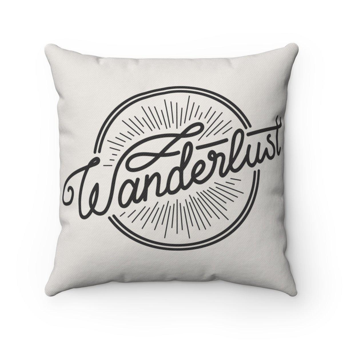 Wanderlust/ Journey 2 in 1 Double sided contemporary decorative cushion cover-Home Decor - Decorative Accents - Pillows & Throws - Decorative Pillows-Maison d'Elite-Très Elite