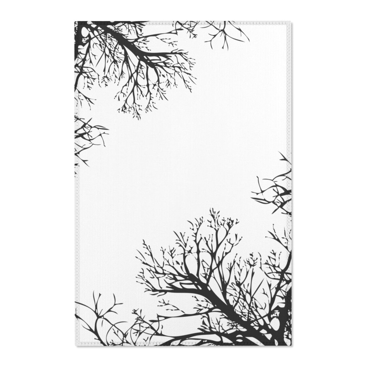 "Winter tree Area Rugs-Home Decor-Printify-24"" x 36""-Très Elite"