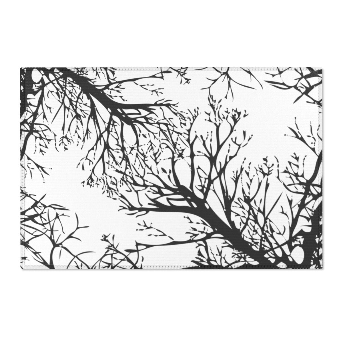 Winter tree Area Rugs-Home Decor-Printify-Très Elite