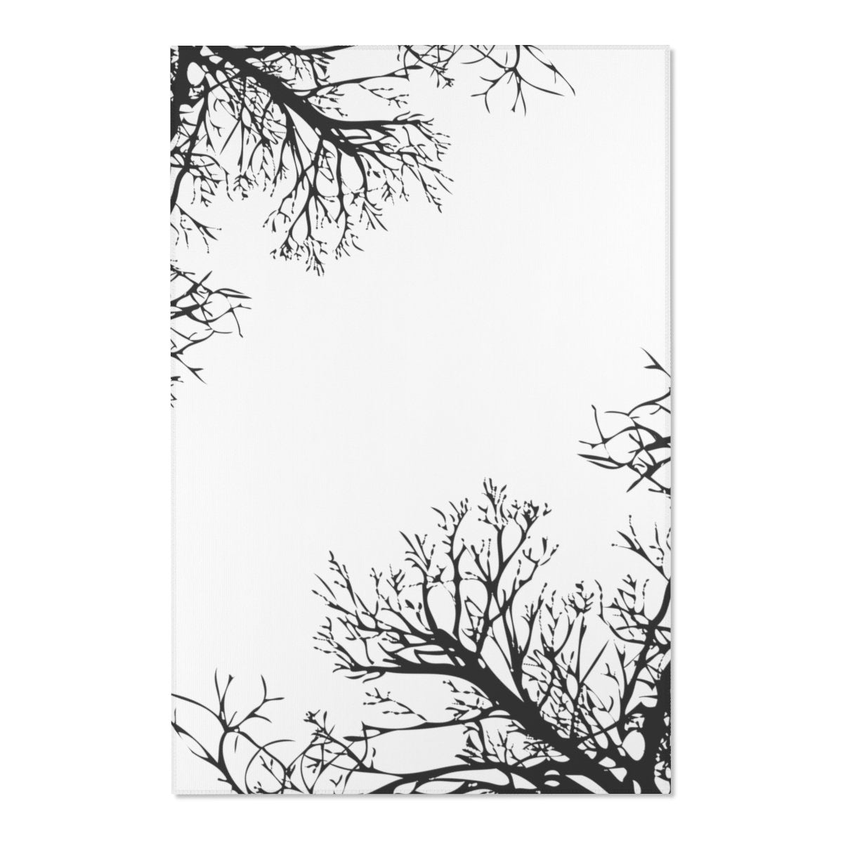 "Winter tree Area Rugs-Home Decor-Printify-48"" x 72""-Très Elite"