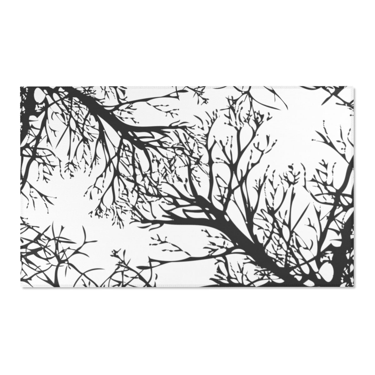 "Winter tree Area Rugs-Home Decor-Printify-60"" x 36""-Très Elite"