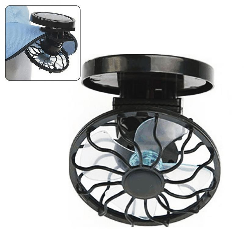FREE: Clip-on Solar Powered Fan
