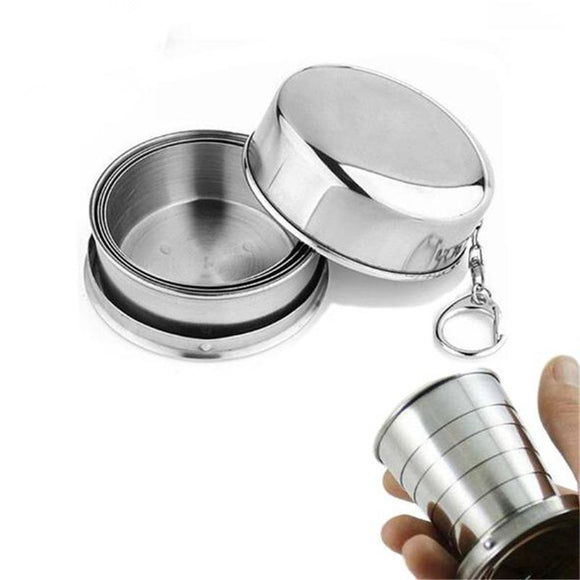 Outdoor Mug Portable Collapsible Cup