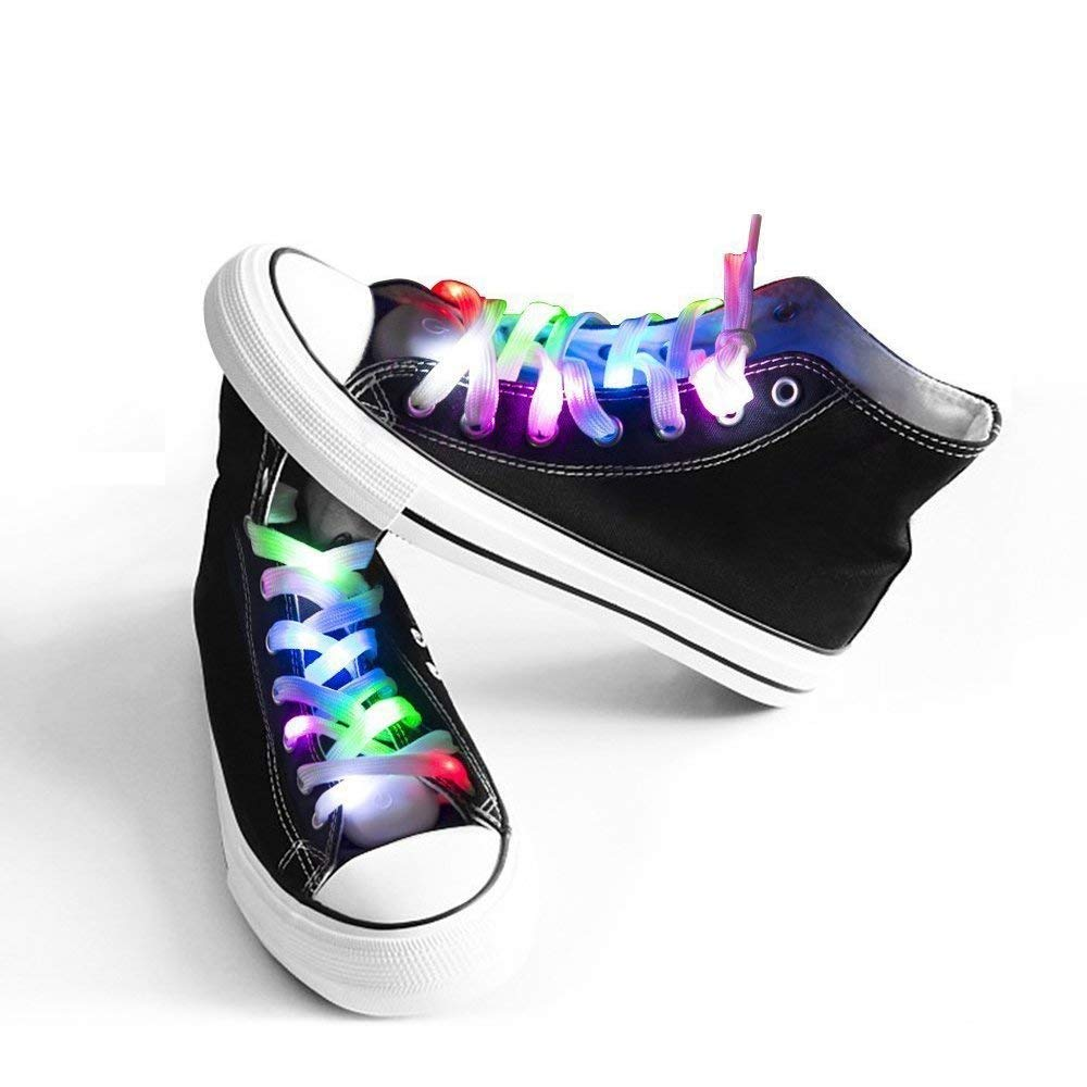Multicolor LED Shoelaces