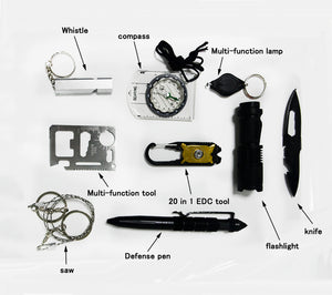 10 in 1 Professional Survival Kit