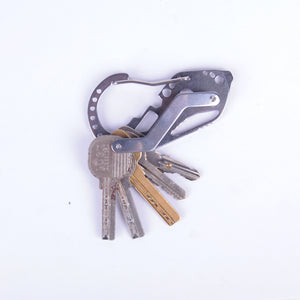Multifunction Quickdraw Carabiner Key Holder