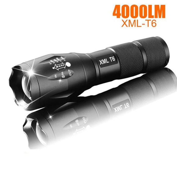 5 Modes Zoomable LED Flashlight ™