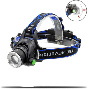 Super Bright Zoomable Waterproof Flashlight Headlamps