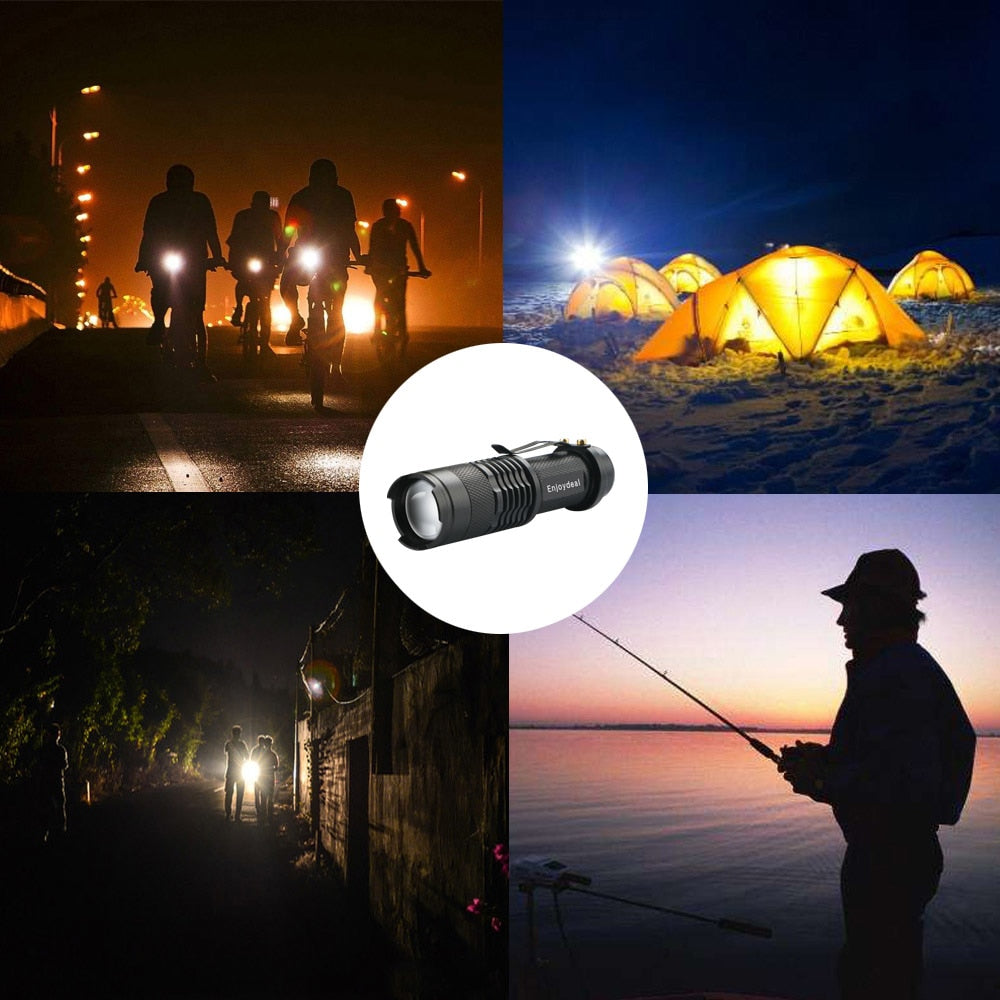 2000 Lumens Mini Tactical Flashlight